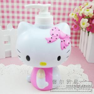 DISPENSER-SABUN CAIR HELLO-KITTY